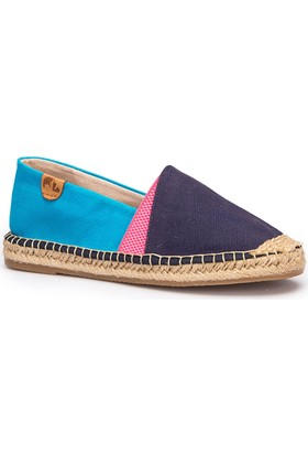 Lumberjack Disco Lacivert Mavi Kadın Espadril Ayakkabı