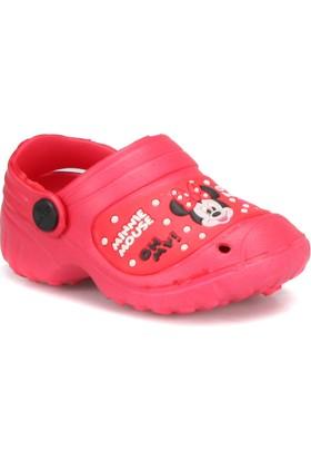 Mickey Mouse 72425T Kırmızı Kız Çocuk Terlik