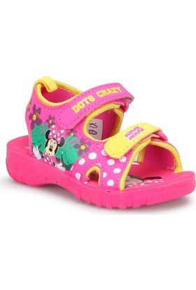Mickey Mouse 73110T Fuşya Pembe Kız Çocuk Sandalet