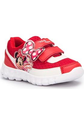 Mickey Mouse Hale Kırmızı Kız Çocuk Ayakkabı