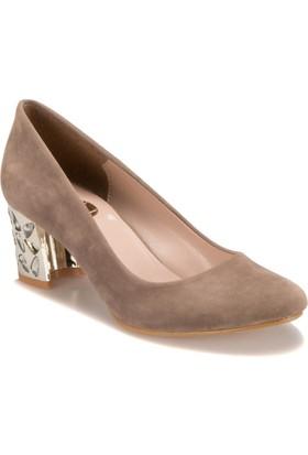 Miss F Ds17027 Bej Kadın Ayakkabı