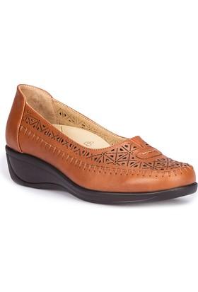 Polaris 5 Nokta 71.109603.Z Taba Kadın Dolgu Topuk Ayakkabı