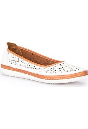 Polaris 71.109677.Z Beyaz Kadın Ayakkabı