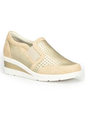 Polaris 71.109753.Z Altın Kadın Ayakkabı