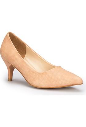 Polaris 71.307282Mz Pudra Kadın Gova Ayakkabı