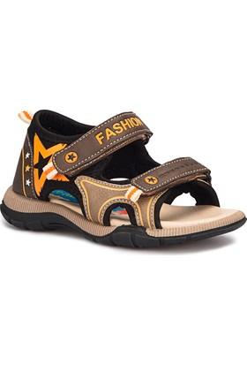 Polaris 71.509089.F Siyah Erkek Çocuk Sandalet