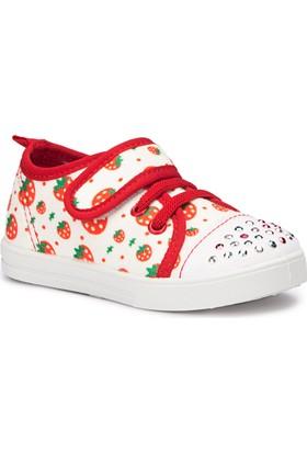 Polaris 71.509194.B Kırmızı Kız Çocuk Sneaker Ayakkabı