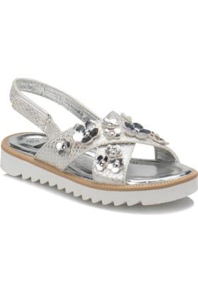 Seventeen G-C16803B Gümüş Kız Çocuk Sandalet