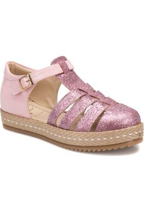 Seventeen Sva250 Pudra Kız Çocuk Espadril Ayakkabı