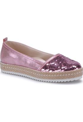 Seventeen Sva430 Pembe Kız Çocuk Espadril Ayakkabı