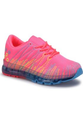 Torex Sosa Pembe Mavi Kız Çocuk Sneaker Ayakkabı