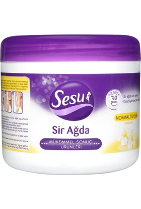 Sesu Sir Ağda Kavanoz 200Ml Normal Tüy