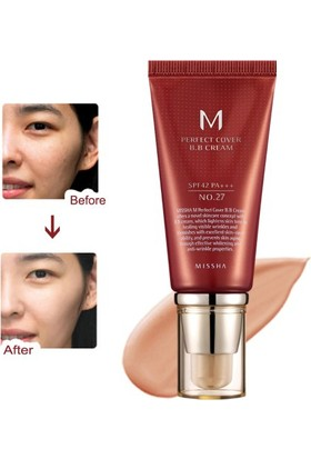 Missha M Perfect Cover BB Cream SPF42 (No.27/Honey Beige) 50ml