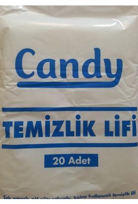 Candy Hasta Temizleme Temizlik Lifi 20 Adet