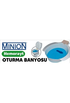 Minion Mn-917 Hemoroid Küveti (Oturma Banyosu)