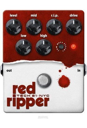 Tech 21 RIP Red Ripper Pedal