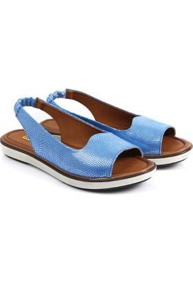 Gön Deri Kadın Sandalet 45709