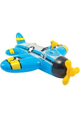 İntex Su Atan Uçak Binici 132x130 cm