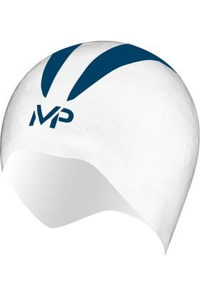 MP X-0 Yarış Bonesi Beyaz/Mavi