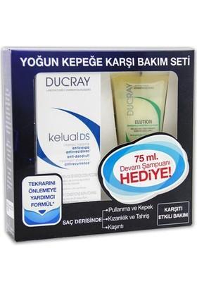 Ducray Kelual Ds Şampuan 100 Ml+Elution Şampuan 75Ml