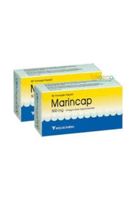Marincap 500 Mg Omega 3 Balık Yağı 60 Kapsül