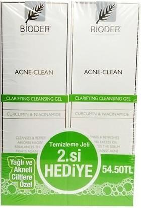 Bioder Acne Clean Temizleme Jeli 200Ml