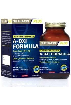 Nutraxin A Oxi Formula 60 Bitkisel Kapsül