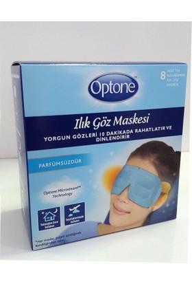 Optone Ilık Göz Maskesi 8Li Parfümsüz - Yorgun Gözler İçin