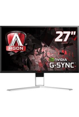 "AOC AG271QG 27"" 165 Hz 4ms (HDMI+DisplayPort) 2K QHD GSnync Oyuncu Monitörü"
