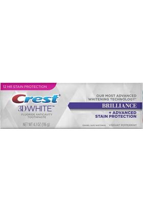 Crest 3D White Brilliance Diş Macunu Vibrant Peppermint 116 Gr