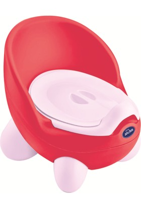 Sevi Bebe Sevimli Lazımlık Kırmızı