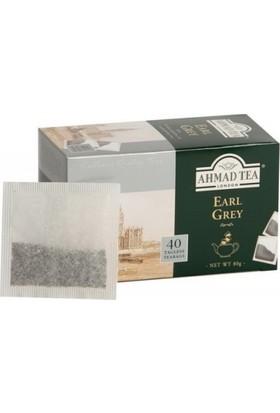 Ahmad Tea Demlik Poşet Çay - Earl Grey 40'li