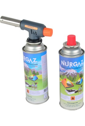 Nurgaz Ng 505 Turbo Torch 2.Tüp Set