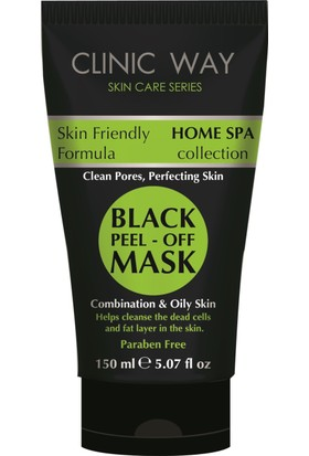 Clinic Way - Siyah Maske