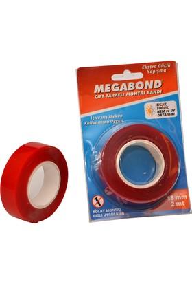 Megabond Çift Taraflı Vhb Bant 18 Mm x 2 M 150 Adet