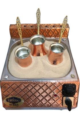 Tiryaki Bakır Kumda Kahve Makinesi