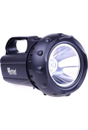 Watton Profosyonel El Ve Güvenlik Feneri 10 Watt Gücünde Wt 404