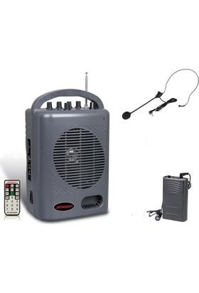 Jameson Zz-888 Taşınabilir Kablosuz Pa Amplifikatör Hoparlör