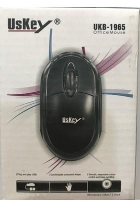 Uskey Kablolu Optik Mouse
