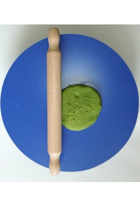 Baskaya Oyun Hamuru Tahtası Mavi