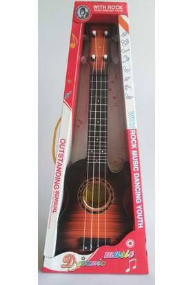 Oyuncak Gerçekçi Gitar (5D Sticker)