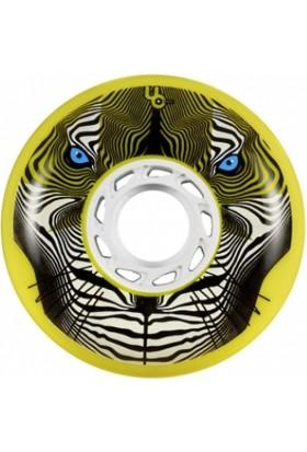 Undercover Tiger Bulletradius Yellow 80Mm/86A