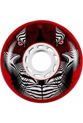 Undercover Tiger Bulletradius Red 80Mm/86A