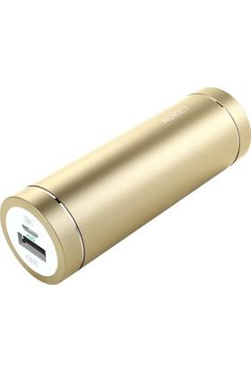 Aukey 5000Mah Taşınabilir Şarj Cihazı Gold Ve 20 Cm Micro Usb Kablolu