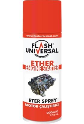 Flash Universal Kontak Hızlandırıcı Sprey Eter Sprey