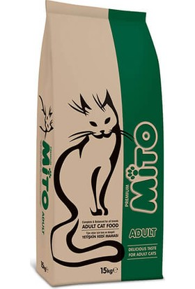 Mito Adult Cat Tavuklu Ve Balıklı Yetişkin Kedi Maması 1 Kg