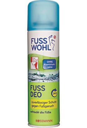 Fusswohl Koku Önleyici Ayak Bakım Deodorant Spreyi, 200 ml