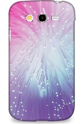 Dynamics Samsung Grand Neo Kılıf Işıklı Kablolar Desenli Kılıf