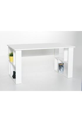 Boo Dublın Beyaz Çalışma Masası