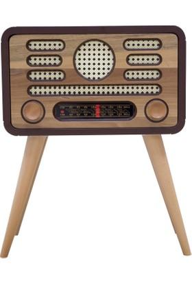 Radyo Yan Sehpa Ceviz